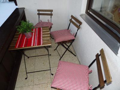 Ferienwohnung Mittenwald Karwendelherzen Balkon