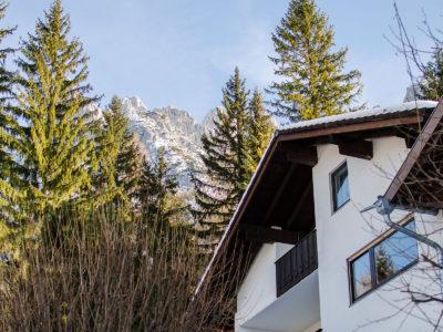 Ferienwohnung Mittenwald Karwendelherzen Karwendelblick
