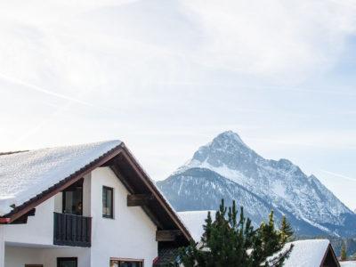 Ferienwohnung Mittenwald Karwendelherzen Wettersteinblick